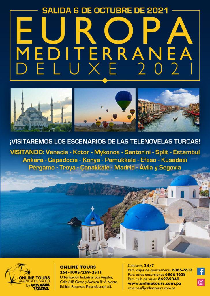 Online Tours EUROPA MEDITERRANEA